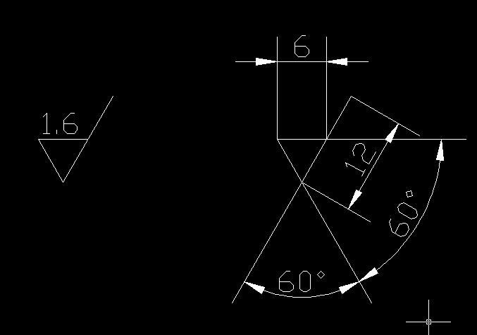CAD软件技术学习交流区表面粗糙度是画把cad导入su图片