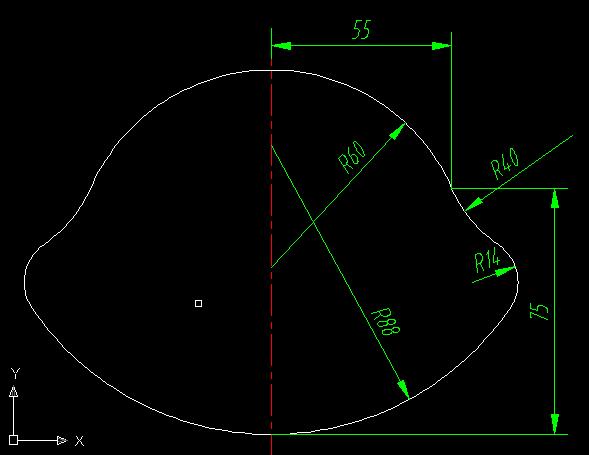流区画简单机械(难人)双点以上图形,显示放大很制图图片cad考试中级图片