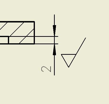 CAD软件技术v工程交流区aip工程图中粗糙度标cad如何等分弧线图片
