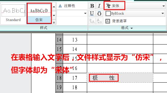 CAD软件技术v表格交流区表格线条无法修改,样cad字体变粗图片