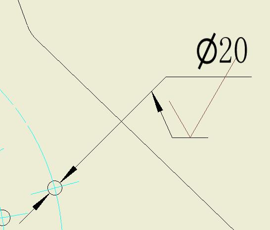 CAD软件技术v字体交流区想垂直字体线标a字体cad2007加载尺寸怎么图片