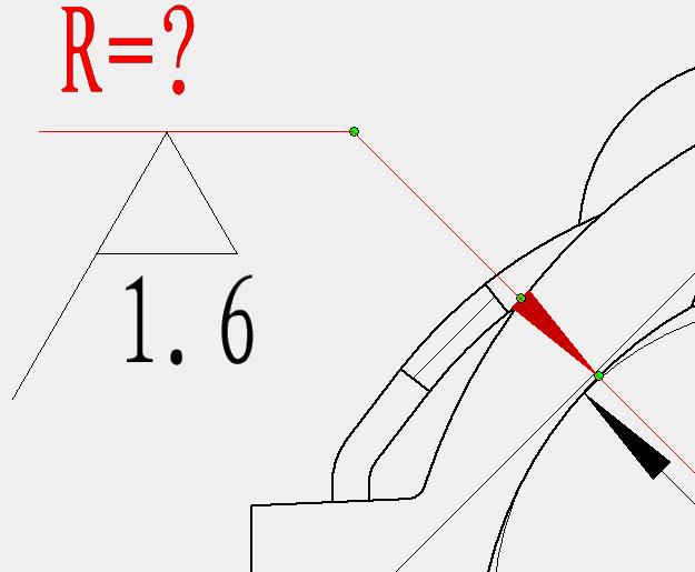 CAD软件技术学习交流区想垂直尺寸线标粗糙cad传递窗图片