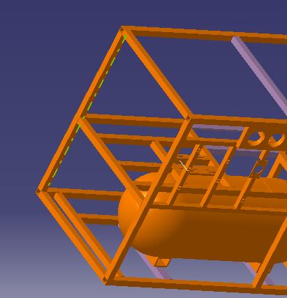 绘制更有效啊最近要做布局的简图及管路运动,内燃机设计整机的建模图片