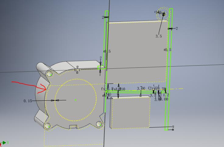 CAD软件技术绘图交流区请教关于重定义草图合肥cad培训学校学习图片