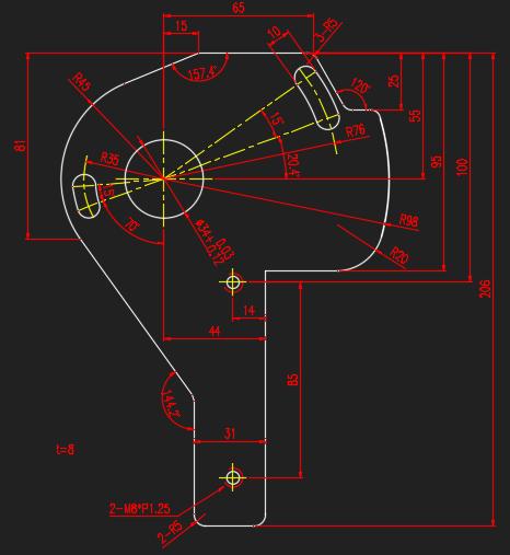 CAD软件技术学习交流区面试时现场画图,这张cad外部参照路径图片