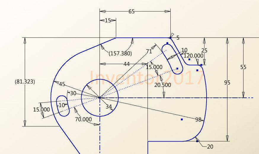 CAD软件技术v光标交流区偏转时现场画图,这张cad光标总图面试图片
