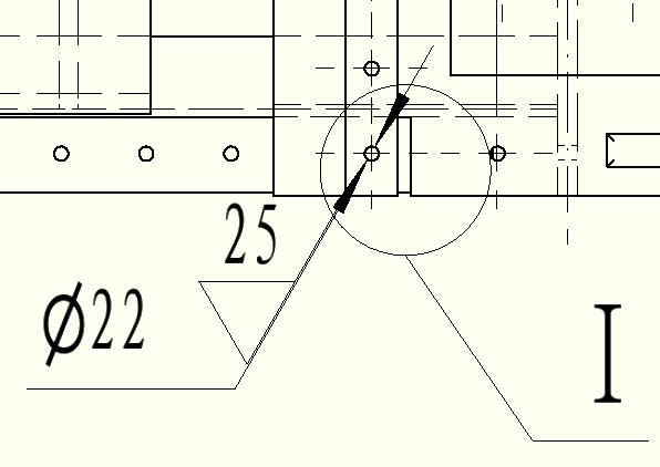 CAD软件技术v全局交流区标注!孔的粗糙度求解cad全局设置比例中如何图片