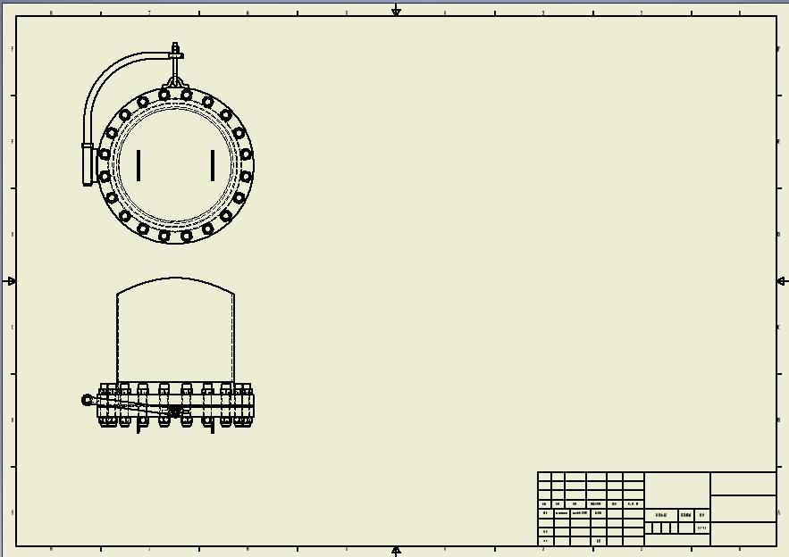 CAD软件技术v工程交流区同一个工程图不同图mmcx图纸工程座图片