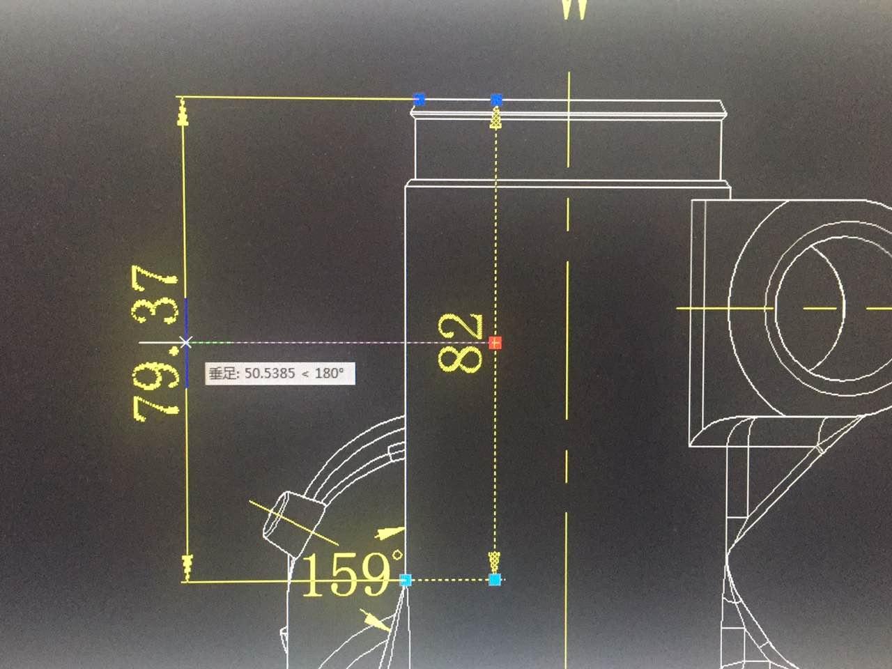 CAD中标好的数值拉下尺寸变动?求助悬挑脚手架cad图纸图片