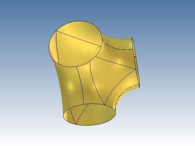 CAD软件技术v样式交流区设置样式?我根据8.5ug图纸合并曲面图片