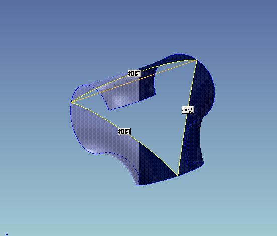 CAD软件技术学习交流区公布曲面练习题--三通lykanhypersportcad图片