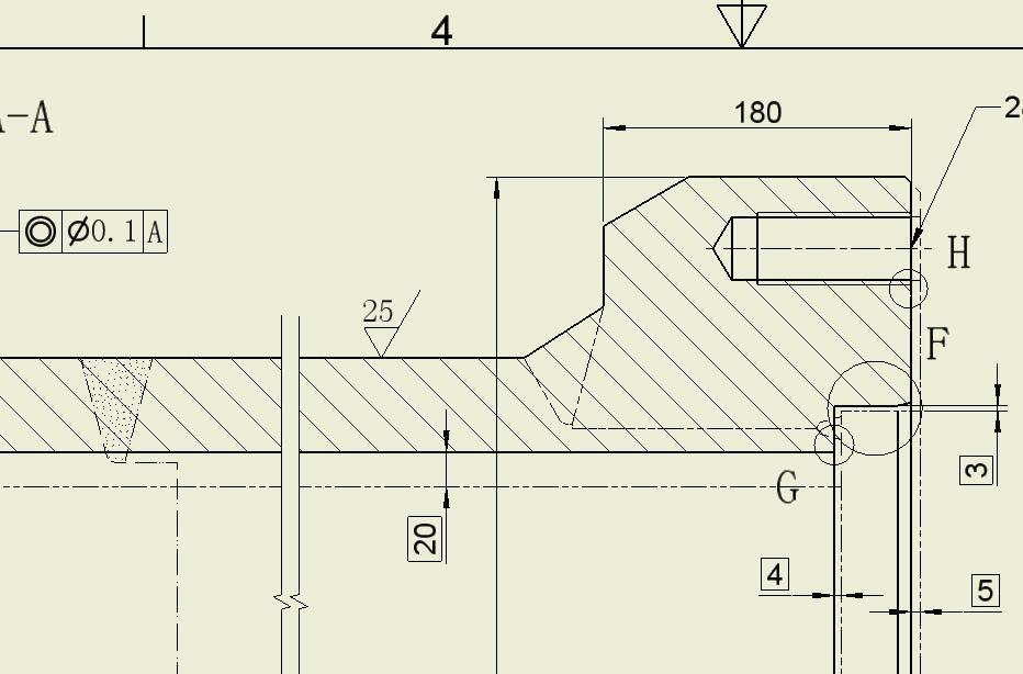 CAD软件技术学习交流区这种焊接件该操鞋长出图纸冲击70那级图片