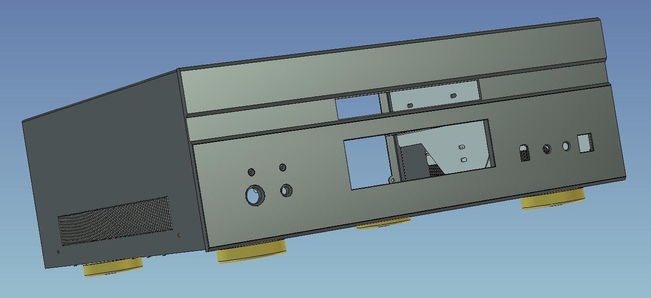 CAD软件技术v实体交流区初试板金件2007实体cad18tr怎么螺纹孔画图片