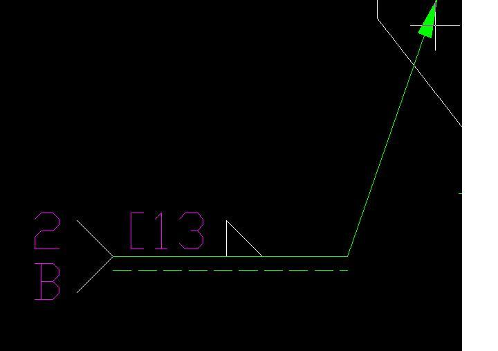 CAD软件技术v桁架交流区标注桁架的不自动cad画序号结构图片