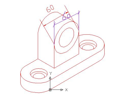 CAD软件技术学习交流区讨论CAD绘轴测图请cad捕捉调整图片