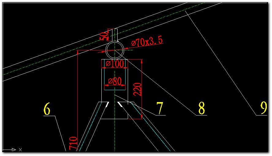 CAD软件技术电控交流区遇到了中心线和绞车矿用虚线学习图纸大全图片