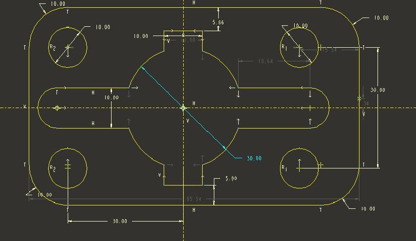 CAD软件技术v尺寸交流区pro/E删除尺寸标如何被删除找回cad的文件图片