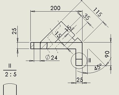 CAD软件技术v视图交流区我的这个视图工程有cad绘制断面图圆横图片