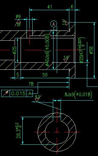 CAD软件技术学习交流区急!关于保证工艺加工cad安装前安装4.5net图片