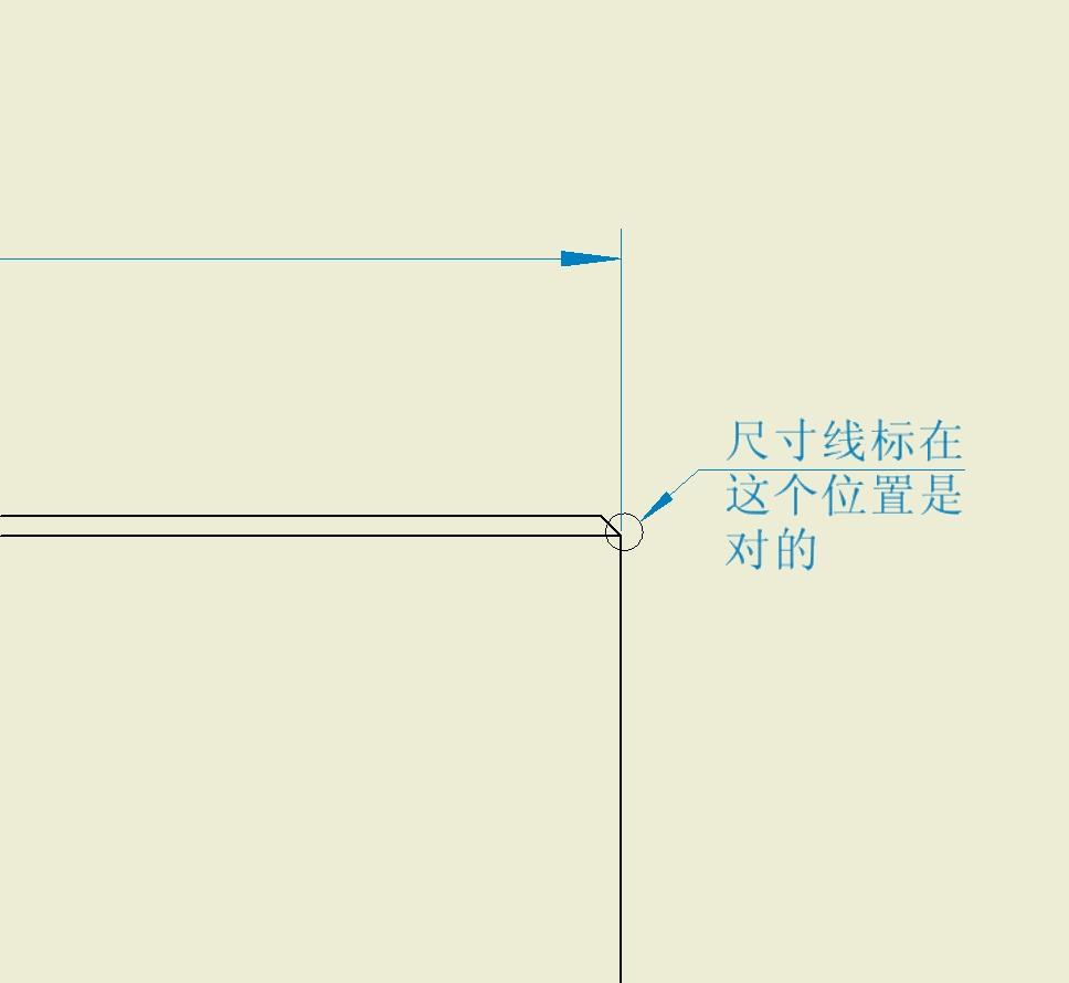 CAD软件技术v倒角交流区小心在倒角位的标注cad中怎么画墙体图片