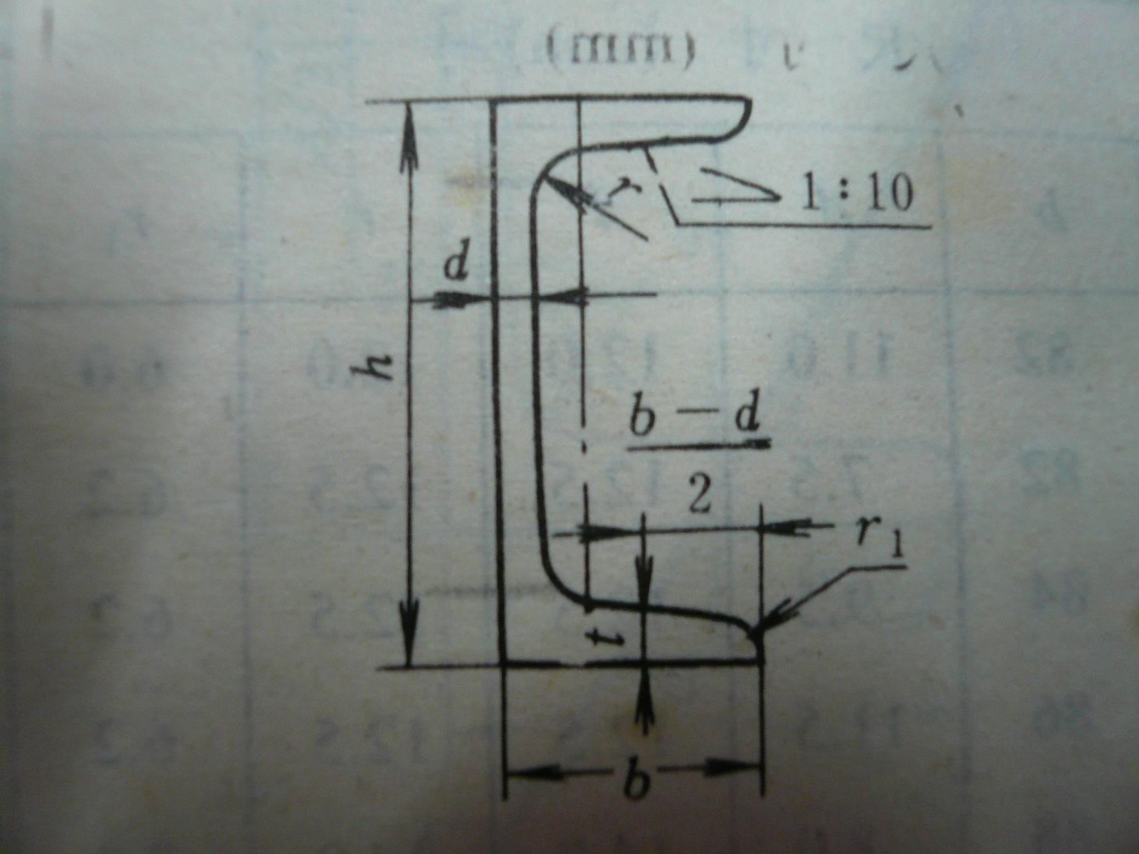 CAD软件技术学习交流区这个图怎么画呀国标热轧槽钢用CAD
