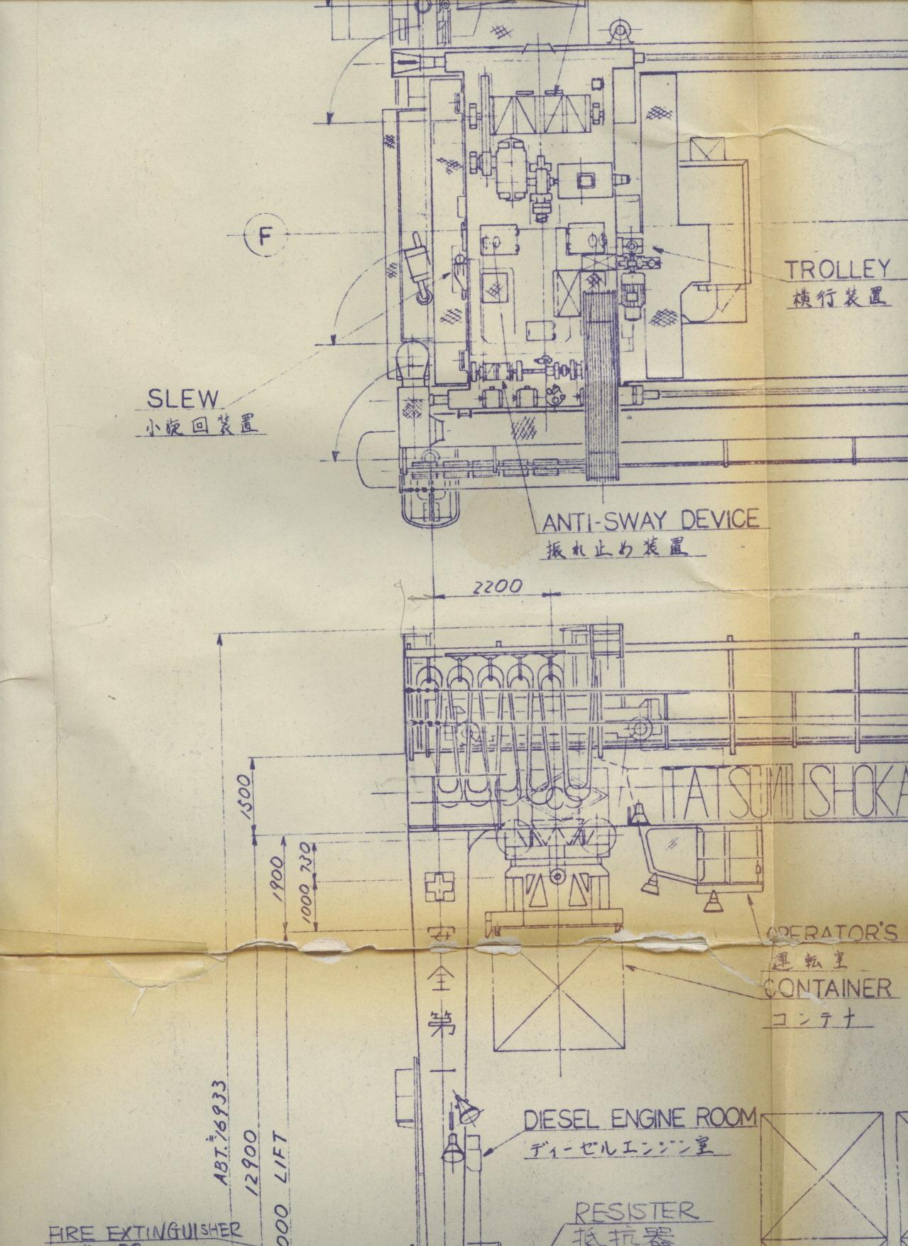 机械制造与设计、图纸交流文档画过集装箱word电气如何插入版块轴线图片