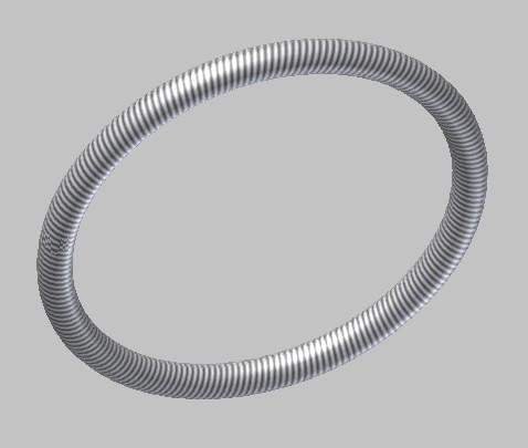 CAD软件技术v布局交流区布局的弹簧该画在怎样cad设置框环形里图图片