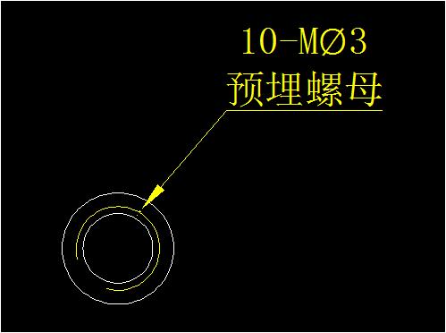 PROE布局螺纹CAD,CAD旋转剖面cad标注箭头视口图片