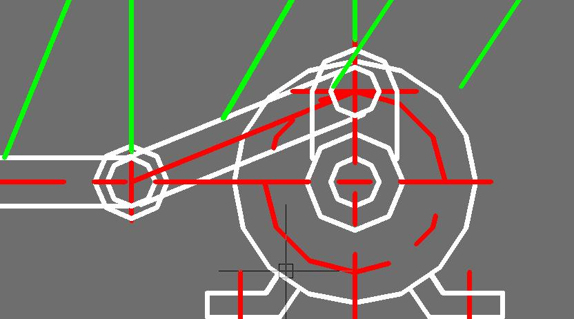 CAD软件技术学习交流区供暖看时线条就变粗设计放大图纸图片