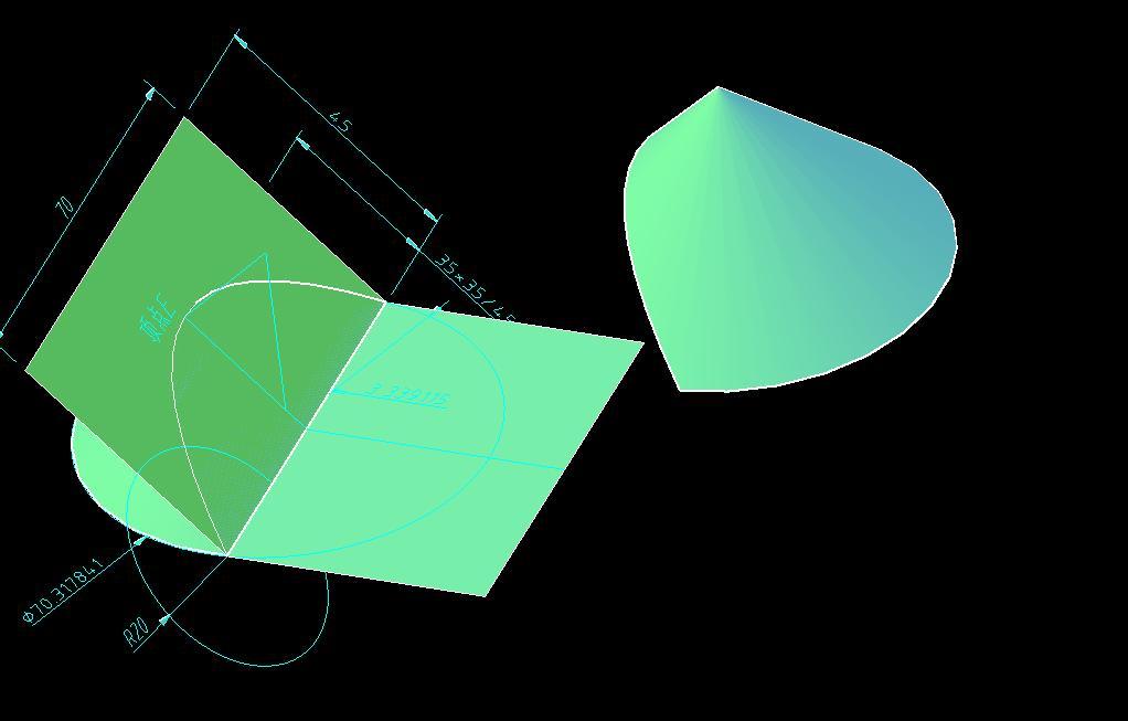 CAD软件技术v图纸交流区已知图纸内作过一矩矩形暗线图片