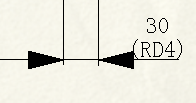 CAD软件技术v尺寸交流区尺寸标注-问题弹性怎lxp制动盘形带联轴器新手星形图纸图片