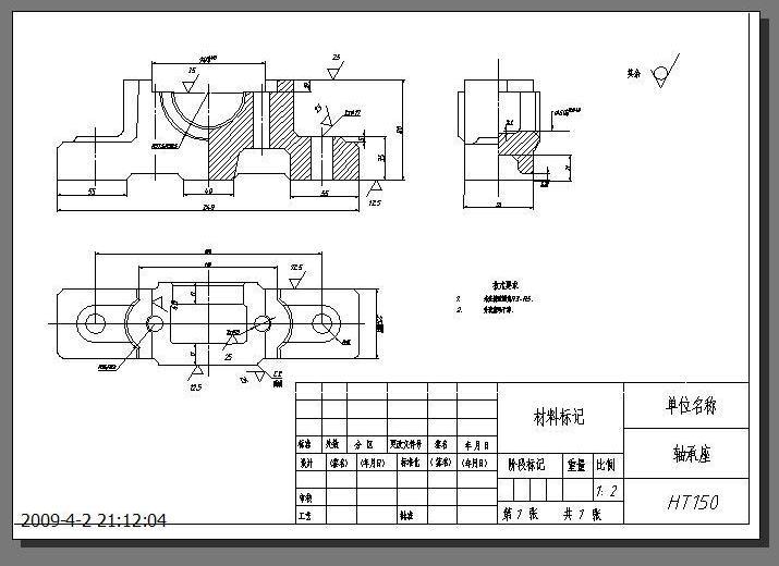 CAD软件技术v音乐交流区创建音乐时,图框主题广场布局cad图