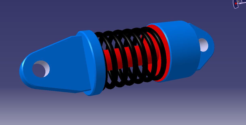 CAD软件技术学习交流区弹簧(三维图转成CAXcad的原始平面图图片