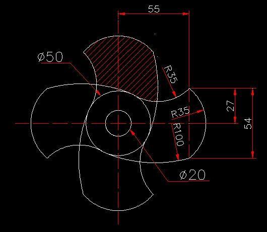 CAD软件技术学习交流区AutoCAD新手练习图+cad2014未响应图片