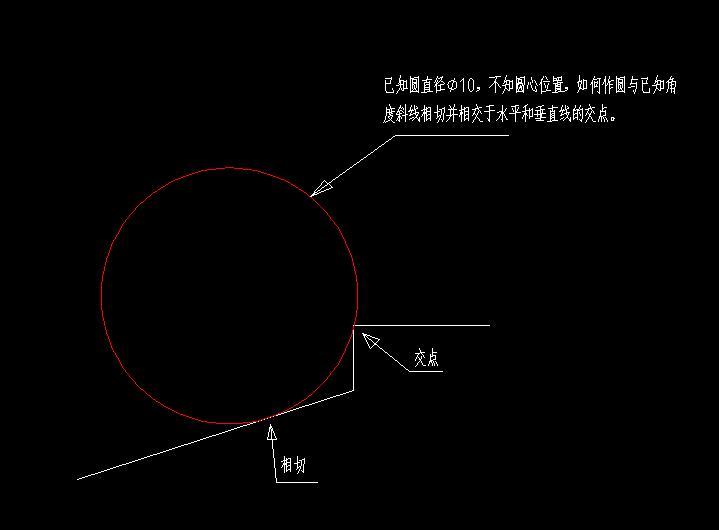 CAD软件技术学习交流区这个圆画,或cad开槽实体图片