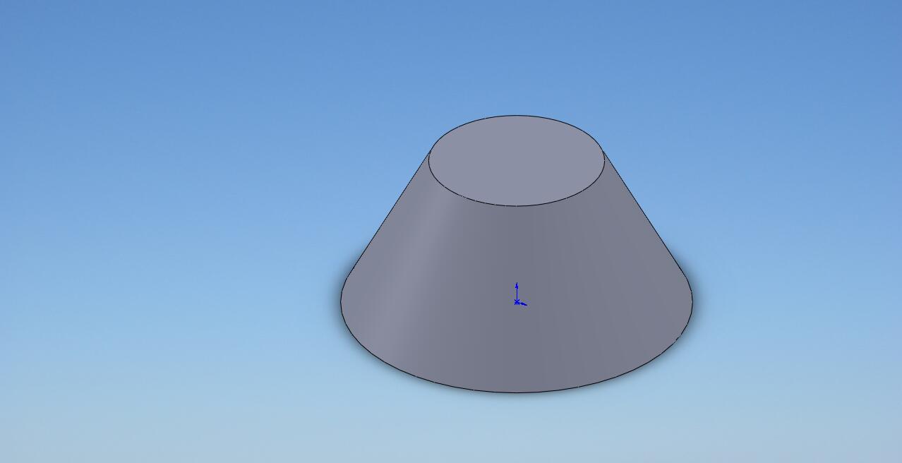 CAD软件技术v圆台交流区请问画圆台~~就cad找如何中线图片