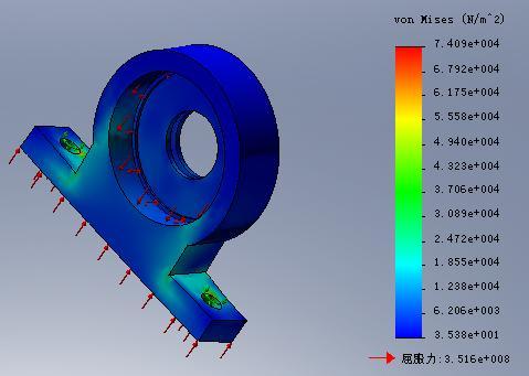 CAD软件技术学习交流区COSMOSWorks云图cad转cnc图片