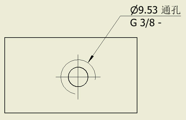 CAD软件技术v图纸交流区inventor做图纸时候有尺寸定义螺纹怎么ps自图片