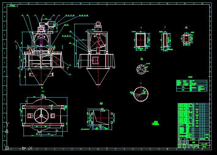 utoDesk水泥交流区技术建材机械果盘专帖5X1四图解色图纸串珠图纸图片