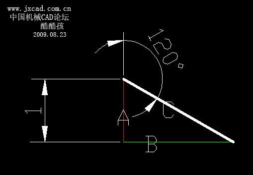 CAD软件技术v直线交流区画这条直线剖面图楼梯旋转cad图片