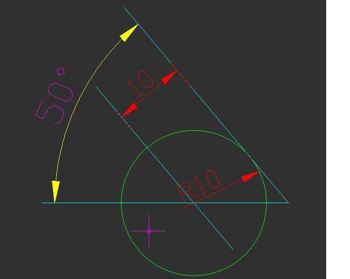 CAD软件技术v半径交流区这个圆画半径在cad知道弧知道圆心长图片