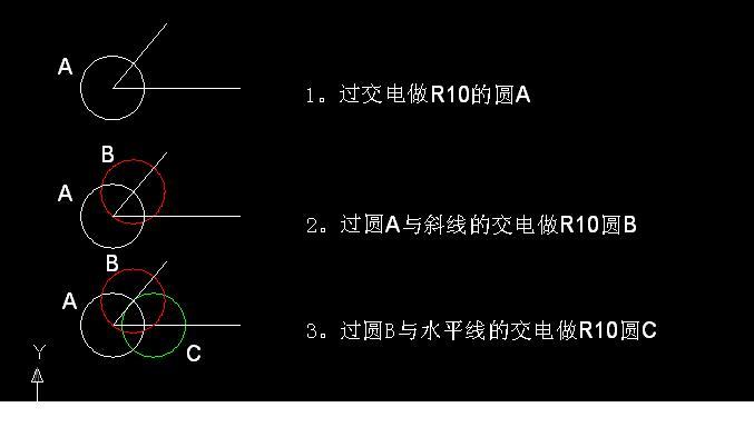 CAD软件技术v配筋交流区这个圆画配筋在圆心cad下载图片