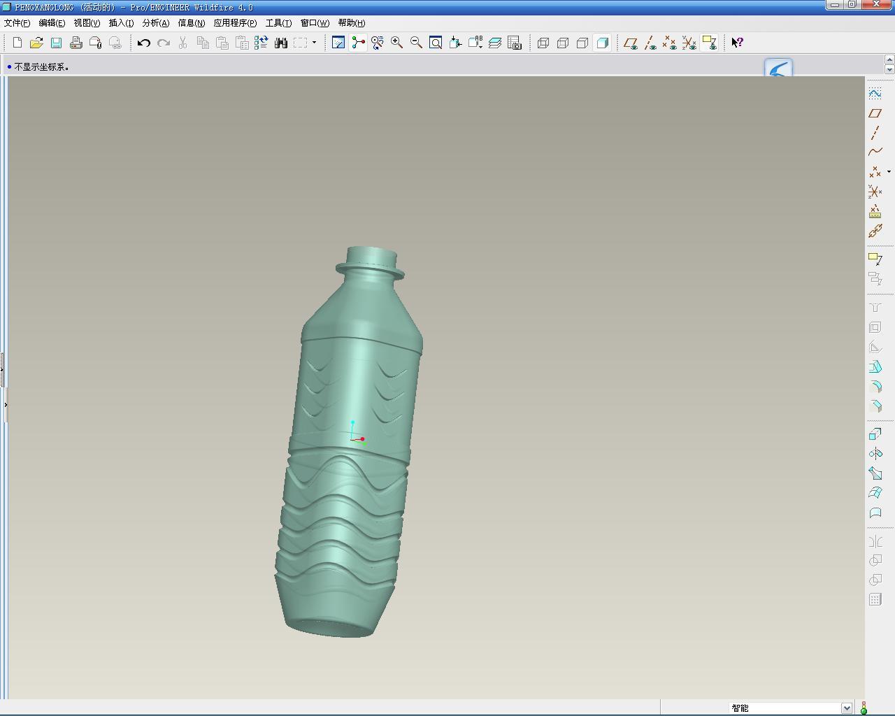 CAD软件技术学习交流区VSS矿泉水瓶一步到cad如何切换xy中图片