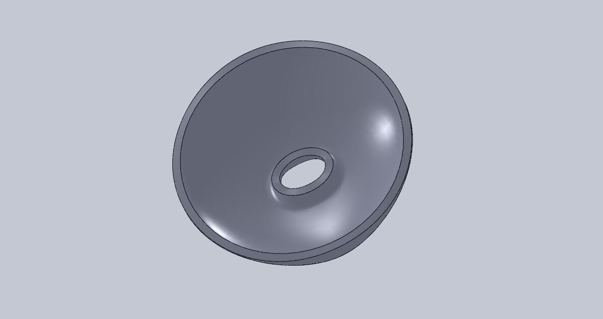 CAD软件技术学习交流区有人孔的椭圆封头怎么画啊 如上图示 二维图 Welcome to forum