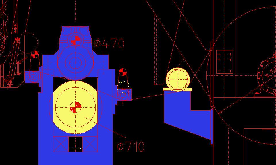 CAD软件技术v高手交流区请教高手们:一个尺寸如何把cad图分割图片