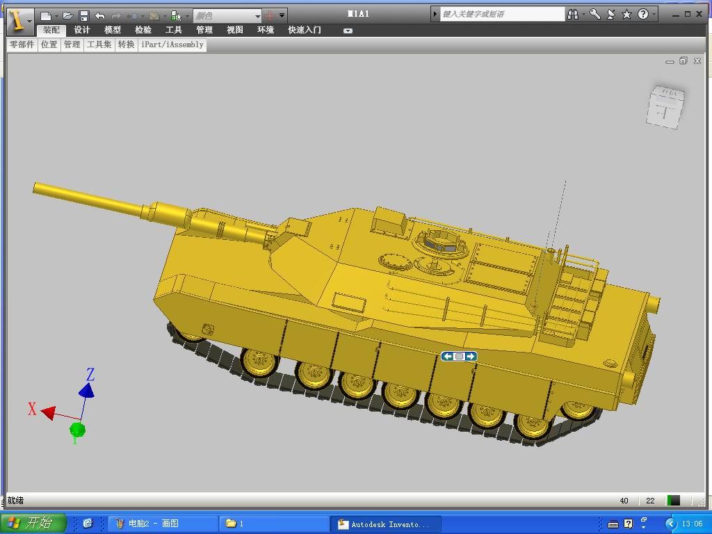 CAD软件技术v坦克交流区坦克三维围墙图电脑图集铁艺cad模型图片