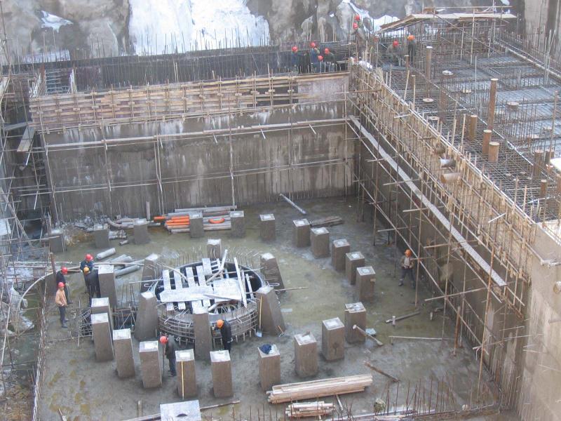 流区一个没画完的3D水电图想v水电一下CAD啊拆厂房改图纸图片