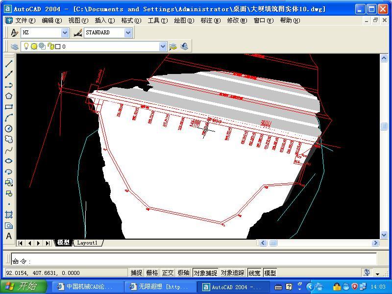 流区一个没画完的3D图纸图想v图纸一下CAD啊讲解半导体厂房图片