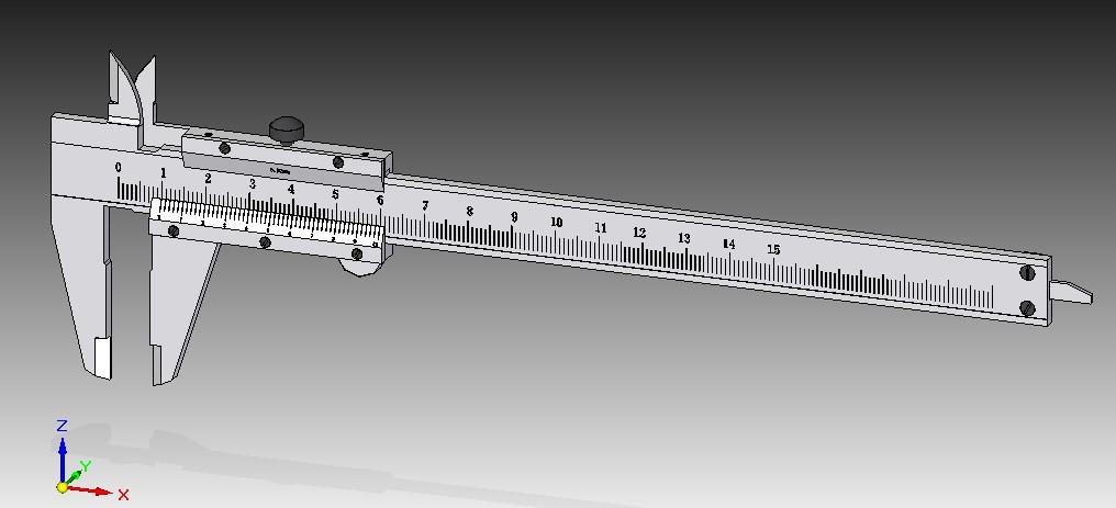 CAD软件技术学习交流区150游标卡尺SE-ST版cad一块选中怎么平面图图片