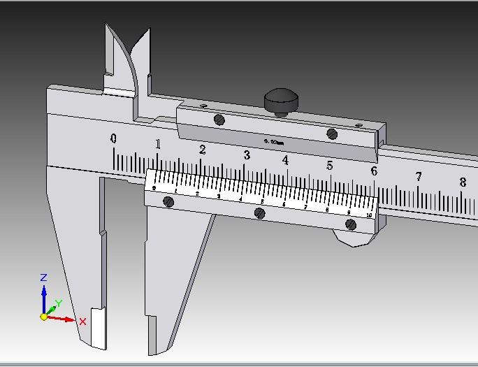 CAD软件技术学习交流区150游标卡尺SE-ST版2007cad数据提取图片